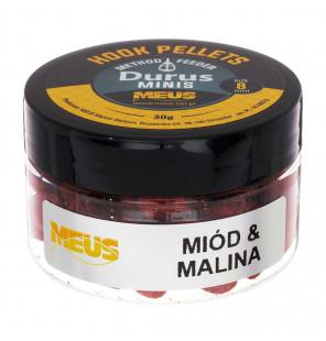 Meus Method Feeder Hook Pellets 8mm Honig & Himbeere Meus Method Feeder Baits