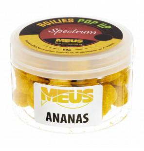 Meus Spectrum Pop Up Boilies 15mm – Ananas Meus Baits