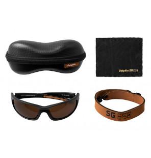 Delphin Polarized sunglasses SG ESO Sonnenbrille mit Tasche und Band Delphin Polaroid Brillen & Zubehör
