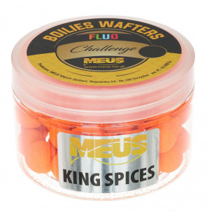 Meus Challenge Fluo Wafter Boilies – King Spice Meus Wafters