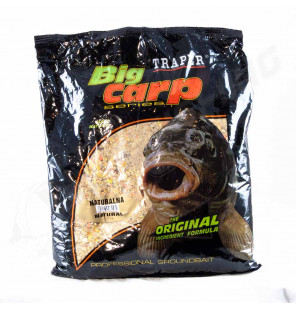 Traper Big Carp Groundbait – Natural 2,5kg Traper Groundbait & Partikelfutter