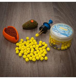 Meus Method Feeder Fluo Wafter 8mm Dumbel Lemon Shock Meus M.F. Wafter