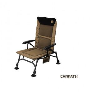 Delphin CX Camo Carpath Angelstuhl Sessel mit extrem hoher Rückenlehne Delphin Angelliegen & Angelstühle