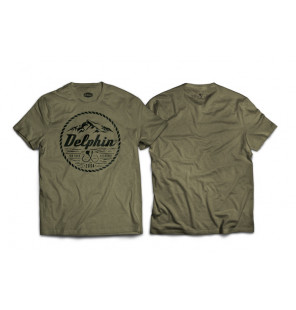 """Delphin T-Shirt 2004 """"For your Record"""" - Green Delphin Hoodie, Shirts, Jacken & Co"""