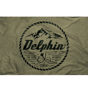 "Delphin T-Shirt 2004 ""For your Record"" - Green Delphin Hoodie, Shirts, Jacken & Co"