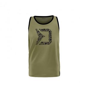 Delphin Rawer Carpath Tank Top Green Ärmellos Delphin Hoodie, Shirts, Jacken & Co
