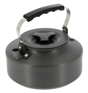 NGT 1.1L Gun Metal Kettle NGT Outdoor Cooking