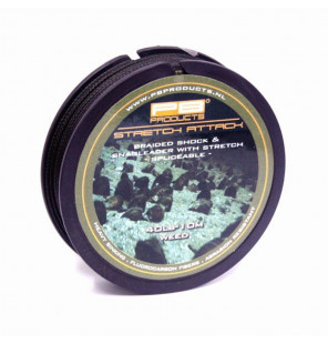 PB Products Stretch Attack Shockleader - Weed 40lb 10m PB Products Schnüre