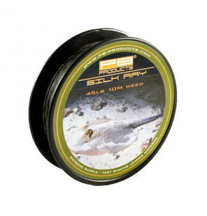 PB Products Silk Ray Leader - Weed 45lb 10m PB Products Schnüre