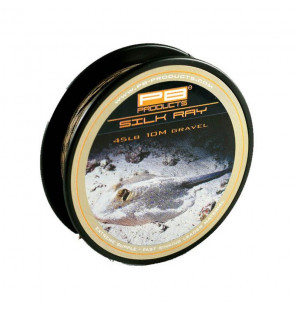 PB Products Silk Ray Leader - Gravel 45lb 10m PB Products Schnüre
