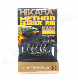 Traper Hikara Method Feeder Rig - Extreme Bayonet 8/0,24 Traper Vorfächer