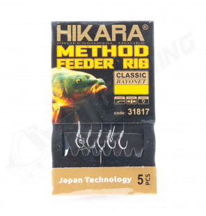Traper Hikara Method Feeder Rig - Classic Bayonet 6/0,24 Traper Vorfächer