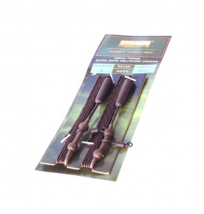 PB Products Extra Safe Heli-Chod Leader - Weed 90cm 2pcs PB Products Vorfachmaterial