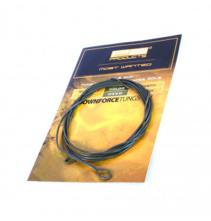 PB Products DT Loaded Leader - Weed 30lb 1m PB Products Vorfachmaterial & Montage-Zubehör