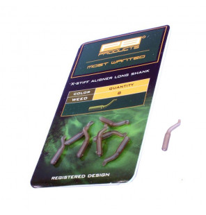 PB Products X-Stiff Aligner Long Shank - Weed 8pcs PB Products Vorfachmaterial & Montage-Zubehör