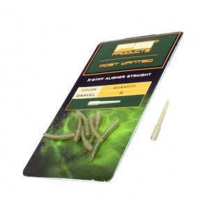 PB Products X-Stiff Aligner Straight - Gravel 8pcs PB Products Vorfachmaterial & Montage-Zubehör