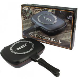 NGT Double Grill Pan NGT Outdoor Cooking