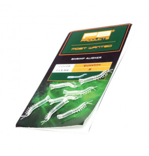 PB Products Shrimp Aligner - Clear 8pcs PB Products Vorfachmaterial & Montage-Zubehör