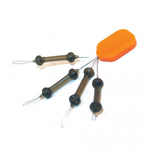 PB Products Heli-Chod Rubber & Beads X-Small - Weed 4pcs PB Products Vorfachmaterial