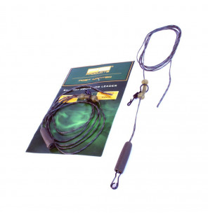 PB Products Silk Ray Heli-Chod Leader - Weed 90cm 2pcs PB Products Vorfachmaterial & Montage-Zubehör