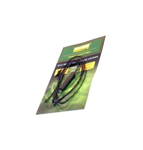 PB Products Silk Ray Hit & Run Chod Leader - Weed 90cm 2pcs PB Products Vorfachmaterial & Montage-Zubehör
