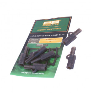 PB Products Hit & Run X-Safe Leadclip - Silt 5pcs PB Products Vorfachmaterial & Montage-Zubehör