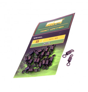 PB Products Swivel - Größe 8, 20 Stück PB Products Swivels