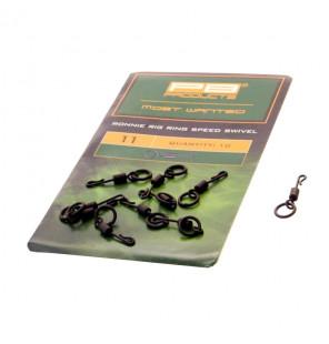 PB Products Ronnie Rig Ring Speed Swivel - Größe 11, 10 Stück PB Products Swivels