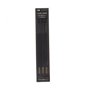 NGT Sixpack Micro Barbed Hair Rigs - 2 x Größen 6, 8, & 10 NGT Vorfächer