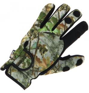 NGT Camo Neopren Gloves NGT Masken & Handschuhe & Co