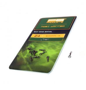 PB Products Bait Ring Swivel - Größe: 24, 10 Stück PB Products Swivels