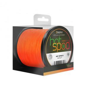 Delphin HotSpod 8 - Orange, Ø 0,14mm, Tragkraft: 9,60kg, Länge: 300m Delphin Endtackle