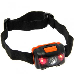 NGT LED Kopflampe mit Weiß- und Rot-Licht NGT Beleuchtung & Kopflampen