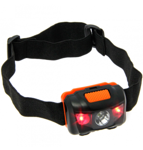 NGT LED Kopflampe mit Weiß- und Rot-Licht NGT Kopflampen