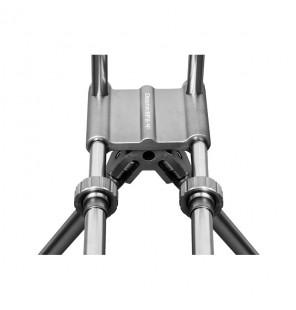Delphin Rodpod RPX 4 Silver für 3 Ruten Massiv Robust Delphin Rod Pod´s, Banksticks & Buzzerbars