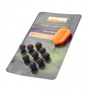 PB Products Multi Beads - Ø 7mm, Weed, 9 Stück PB Products Stopper & Baitscrews
