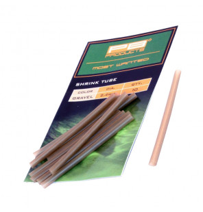 PB Products Shrink Tube - Ø 2,4mm, Gravel, 10 Stück PB Products Tubes & Shrink Tubes