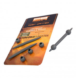 PB Products DT Heli-Chod Rubber & Beads - Weed, 3 Stück PB Products Heli-Rig Zubehör