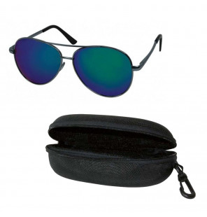 York Polaroid Sun Glasses Black-Blue - Sonnenbrille York Polaroid Brillen & Zubehör