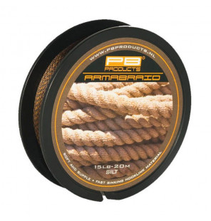 PB Products Armabraid - 15lb, Silt, 20m PB Products Vorfachmaterial & Montage-Zubehör