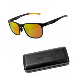 Delphin Polarized Sunglasses SG Black Orange Lenses Sonnenbrille Delphin Polaroid Brillen & Zubehör