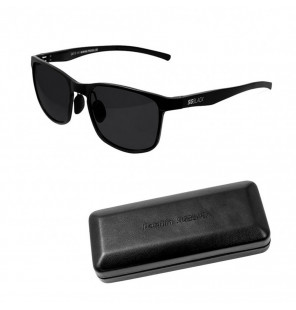 Delphin Polarized Sunglasse SG Black Black Lenses Sonnenbrille Delphin Polaroid Brillen & Zubehör