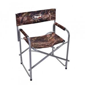 York Camo Chair Strong Angelstuhl mit Armlehnen York Angelliegen & Angelstühle