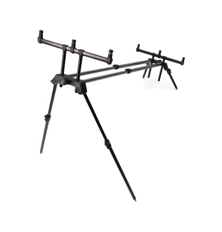 NGT Dual Line PLUS High Rod Pod - 3 Rod mit extra langen Sky Legs & Tasche NGT Rod Pod´s, Banksticks & Buzzerbars
