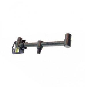 SKILLS Black Buzz Bar 2 Rod Fixed 22cm Rutenauflage Skills Rod Pod´s, Banksticks & Buzzerbars