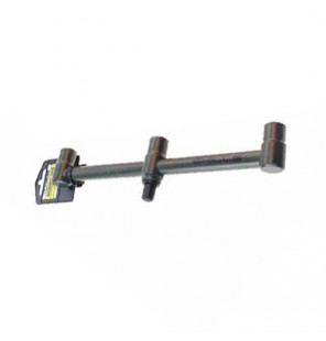 SKILLS Black Buzz Bar 3 Rod Fixed 28cm Rutenauflage Skills Rod Pod´s, Banksticks & Buzzerbars