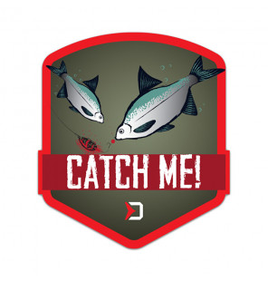 Delphin Sticker CatchME! FEEDER, 9x8cm Aufkleber Delphin Diverse Geschenkideen
