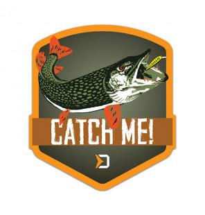 Delphin Sticker CatchME! PIKE, 9x8cm Aufkleber Delphin Diverse Geschenkideen