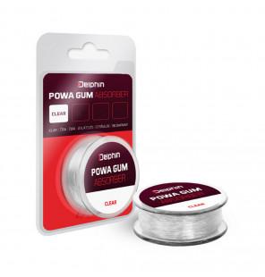 Delphin Powa Gum Absorber clear 0,6mm 4kg 10m Power-Gummi Delphin Vorfachmaterial & Montage-Zubehör