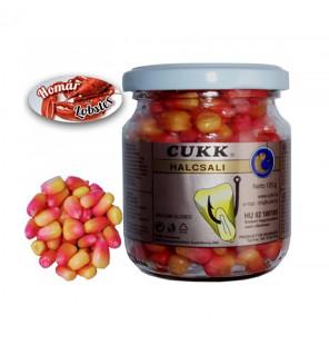 CUKK Sweet Corn Lobster 220ml pink gefärbt Mais im Glas CUKK Hookbaits